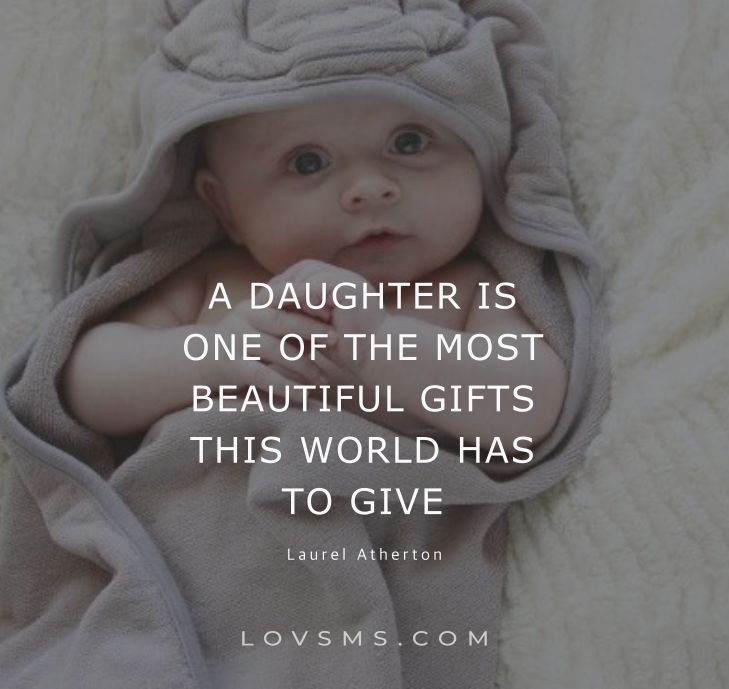 Blessing Quotes For Baby Girl