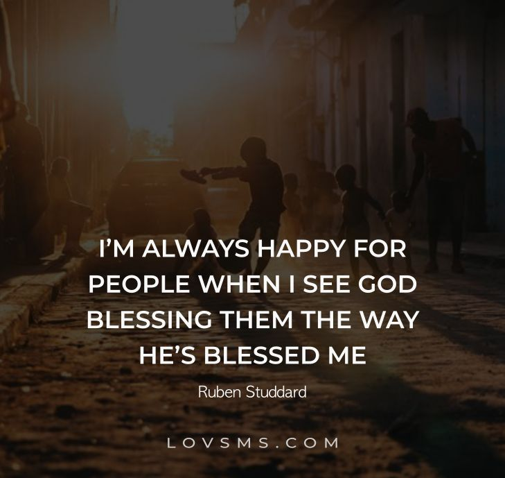 God Blessing Quotes