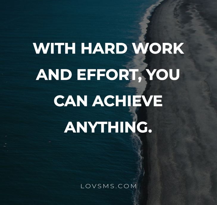 Short Hard Work Quotes