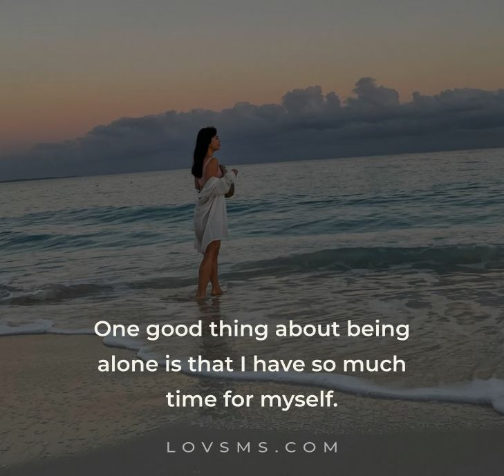 Beautiful Alone Quotes For Girls