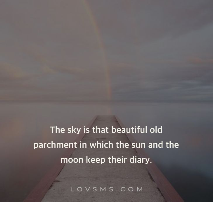 Beautiful Quotes About Sky