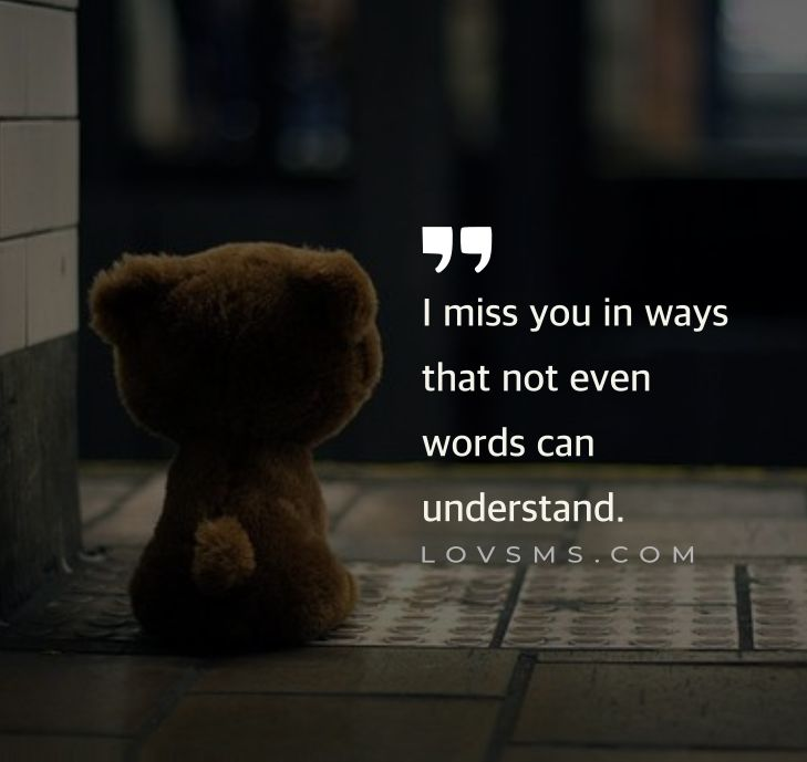 Best Missing You Quotes