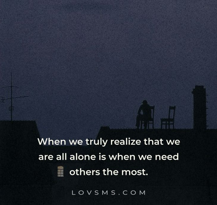 Feeling Alone Quotes