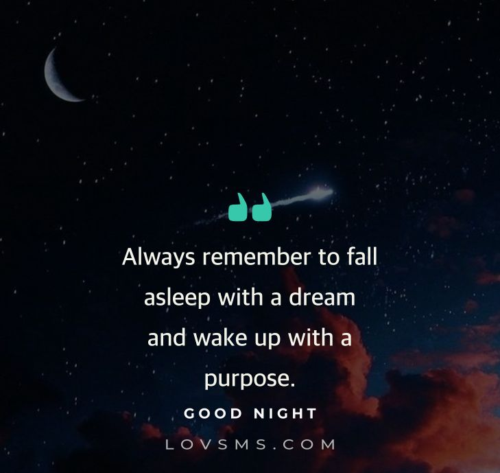 Night quotes sweet 70 Sweet