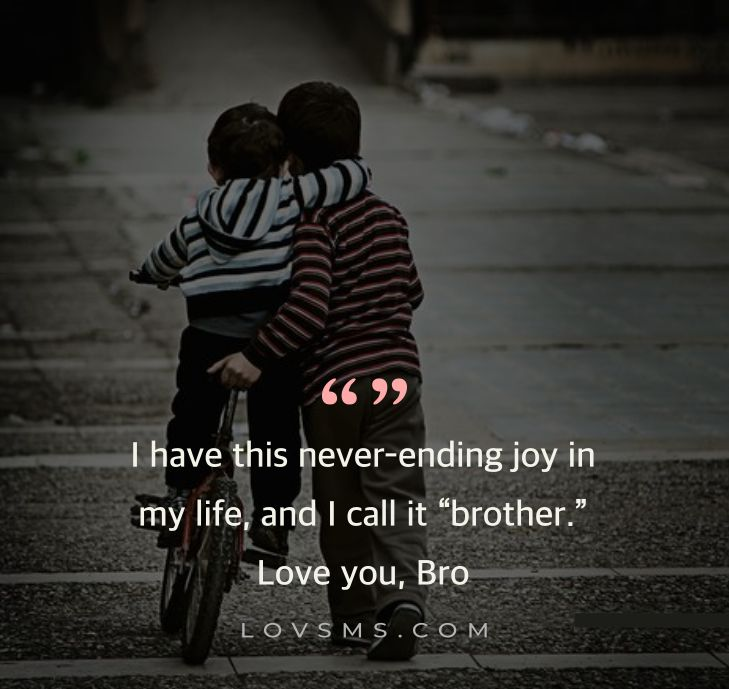 I Love My Brother Quotes