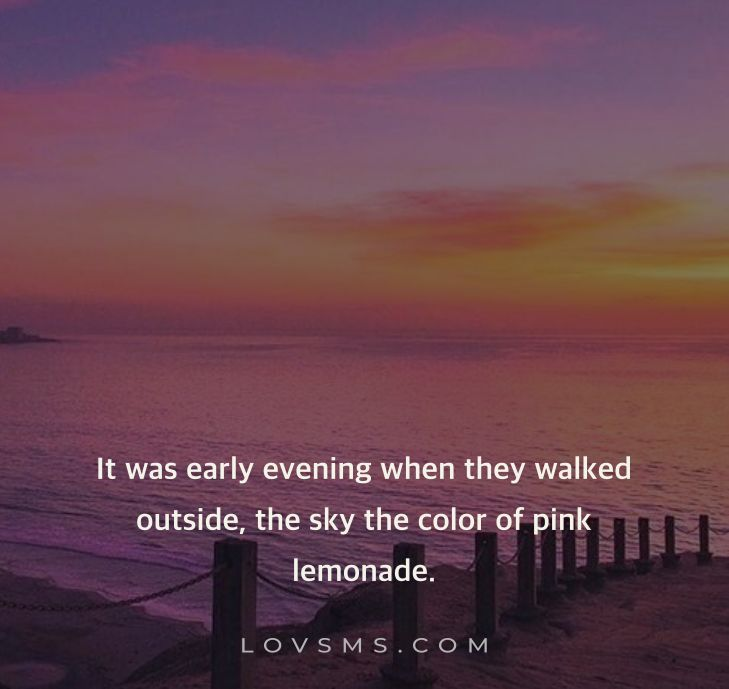 Pink Sky Quotes