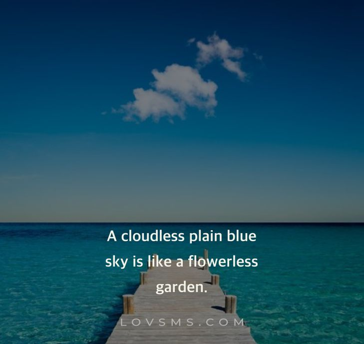 Quotes About Sky And Clouds