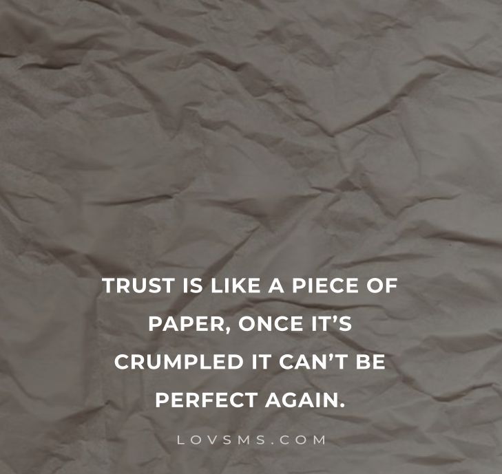 Quotes About Trust Issues