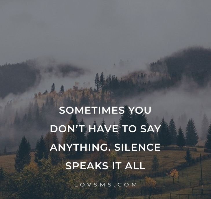 Silence Is The Best Answer Quotes