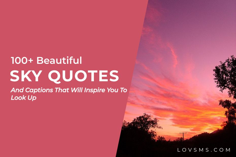 Sky Quotes And Captions
