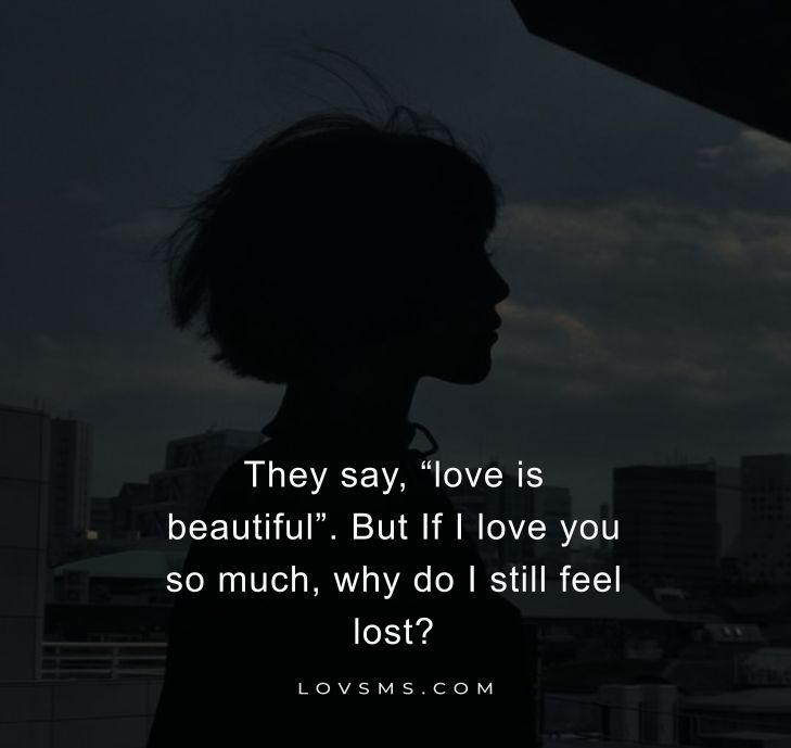 One Side Love Quotes For Her/Him