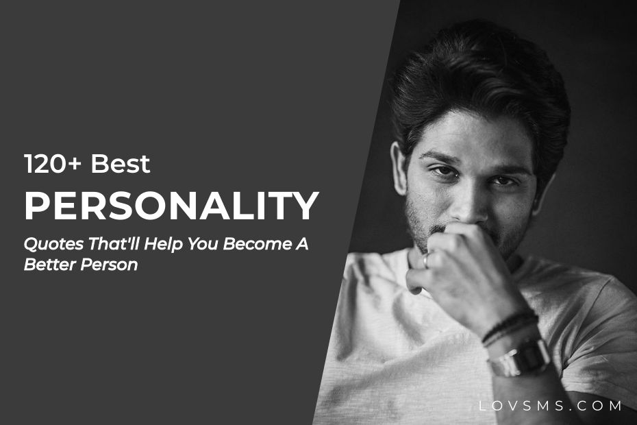 Personality Quotes