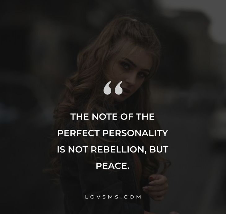 Short Quotes About Personality
