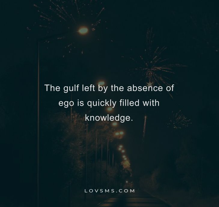 Best Quotes About Ego