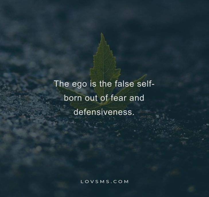 Famous Quotes On Ego