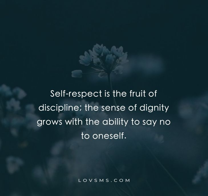 Famous Self Respect Quotes