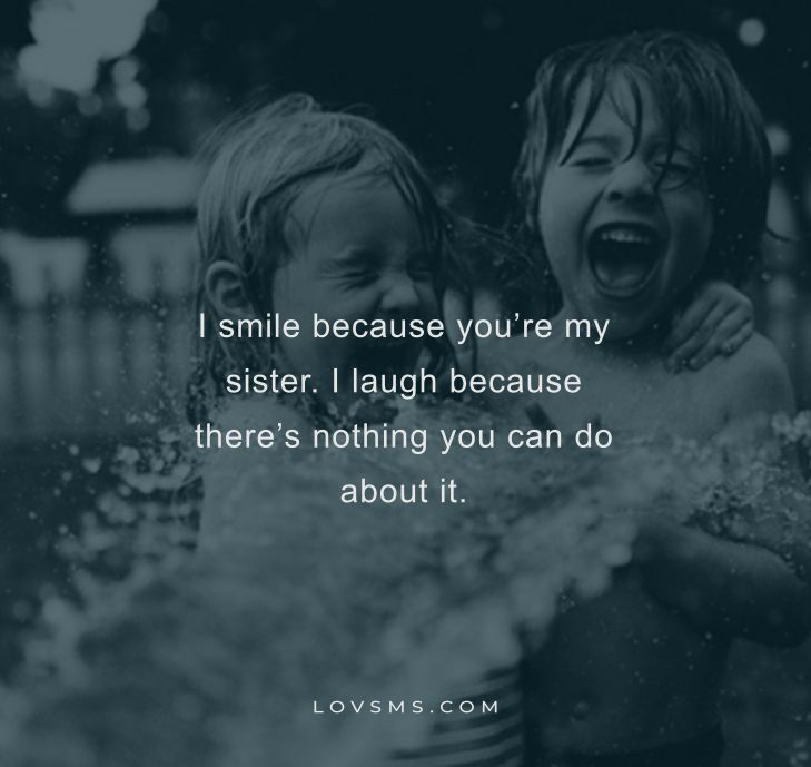 Funny Brother And Sister Quotes