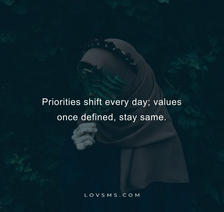 Priority Quotes And Sayings