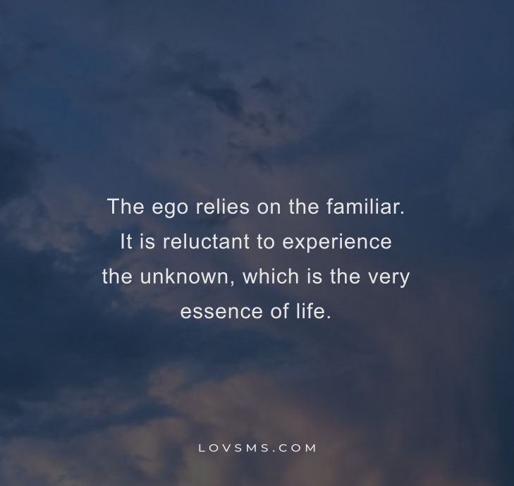 Quotes On The Ego