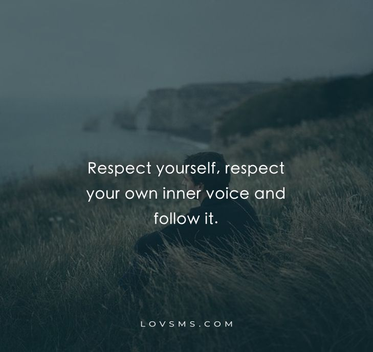 Respect-Yourself Quotes
