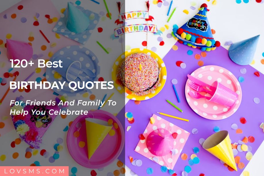 Birthday Quotes For Friends And Family