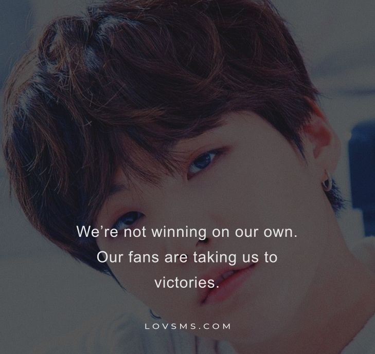 Inspirational BTS Quotes For Instagram