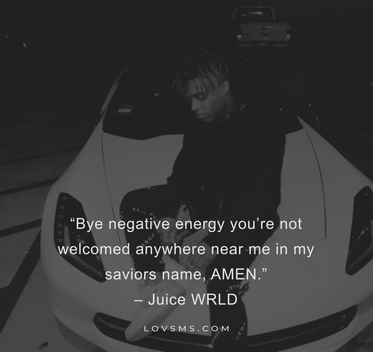 Juice WRLD Quotes About Mental Health