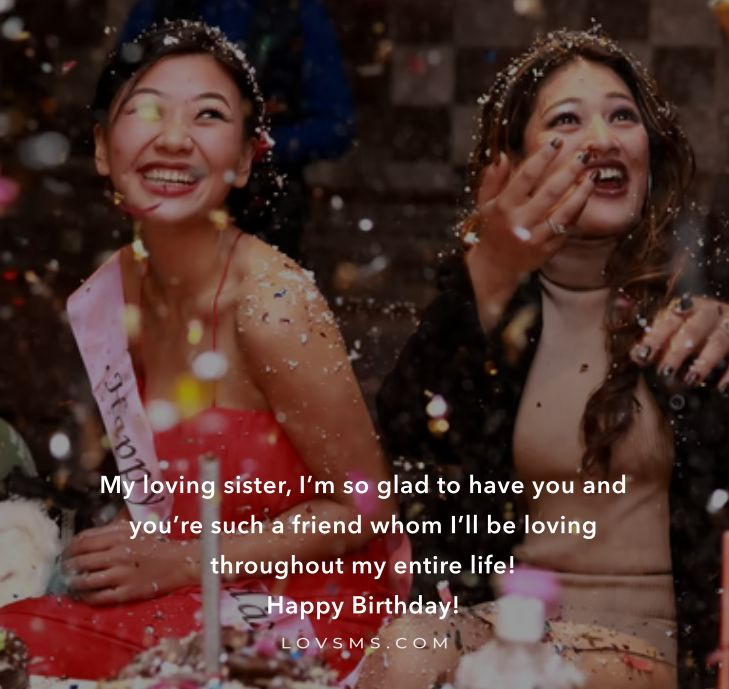 Sister Birthday Quotes