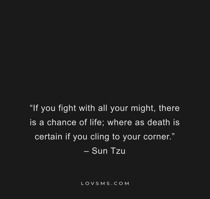 Sun Tzu quotes and sayings