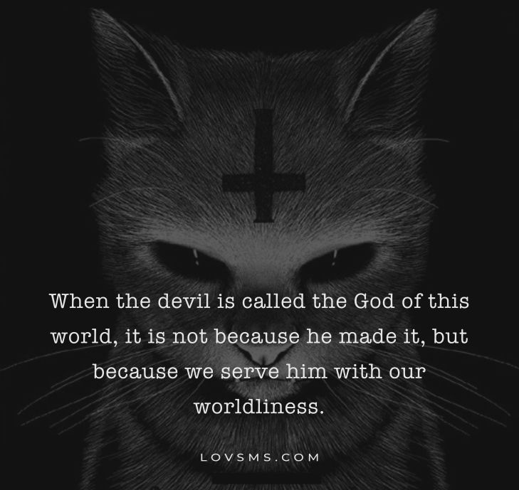 Thought-Provoking Devil Quotes and Sayings