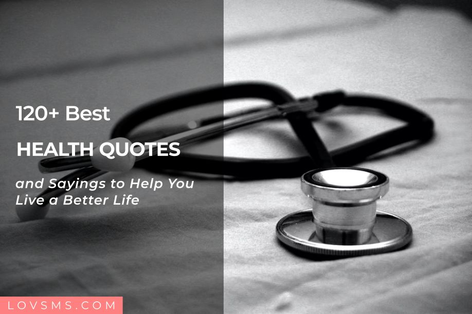 Health Quotes and Sayings